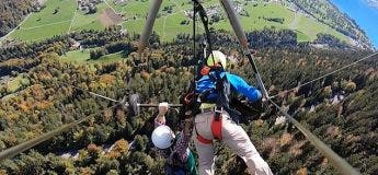En essayant pour la première fois le vol en deltaplane, il a failli perdre sa vie !