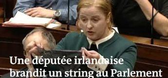 Un string comme preuve de consentement : l'Irlande sous un regard indigné