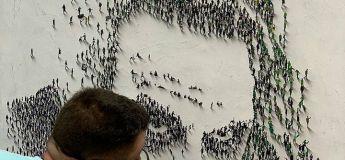 L'artiste Craig Alan peint des portraits en utilisant des gens comme des pixels