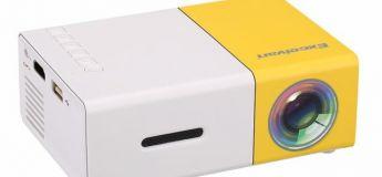 Le mini projecteur ExcelvanYG300 à 28,41€ au lieu de 31,07€