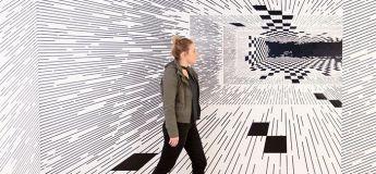 Les fascinantes illusions d'optique d'une jeune artiste américaine