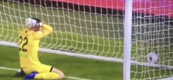 Le gardien d'Ascoli marque contre son camp d'une façon très surprenante