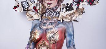 Une talentueuse hollandaise réalise de superbes maquillages à la fois terrifiants