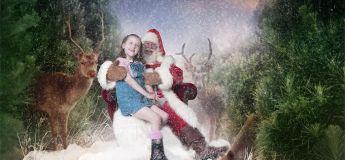 La création de photos de Noël magiques pour les enfants séjournant à l'hôpital