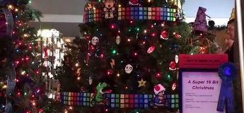 Super sapin de Noël 16 bits