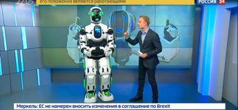 Technologie : le robot russe nommé Boris n'est autre qu'un homme déguisé