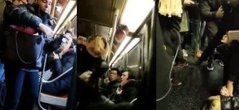 Cette femme raciste et cinglée a littéralement insulté tout le monde dans le métro