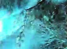 Une vidéo incroyable de lignes à haute tension qui créent des lumières surprenantes et des chocs pendant une tempête de neige