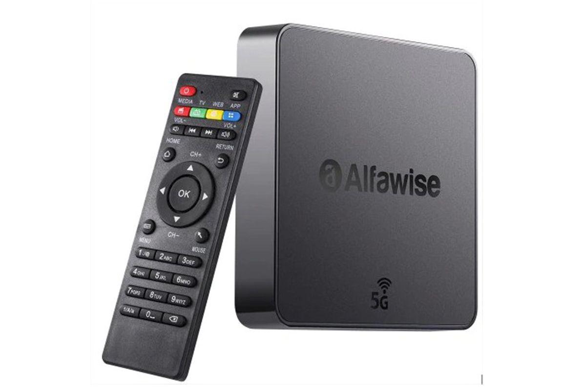 la box tv alfawise a8 pro en promotion tuxboard. Black Bedroom Furniture Sets. Home Design Ideas