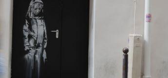 Une œuvre de Banksy peinte sur une porte du Bataclan a été volée
