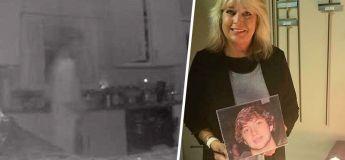 La mère en deuil a aperçu le fantôme de son fils capturé par la caméra de sécurité dans sa cuisine