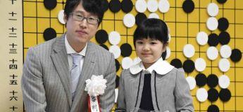 Une Japonaise de 9 ans devient la plus jeune joueuse professionnelle de go