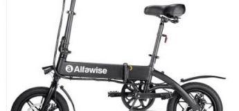 Le vélo électrique pliable Alfawise X1 en promotion à 375,48 €