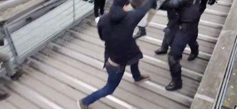 Vidéo du boxeur Gilet Jaune vs CRS lors de la manif du 5 janvier