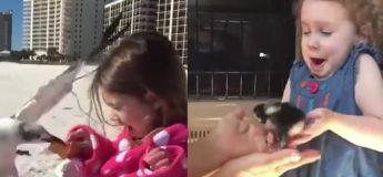 Cette vidéo des enfants réagissant aux animaux est la meilleure chose à voir
