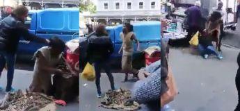 Cette femme a eu ce qu'elle mérite pour avoir brutalisé un homme sans-abri en plein public