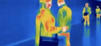 Une femme perd son âme, vidéo capturée par infra-rouge