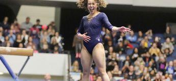 La gymnaste Katelyn Ohashi devient une sensation virale après son incroyable enchaînement