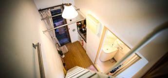 Voici un documentaire sur une visite d'un appartement de 82 pieds carrés à Tokyo