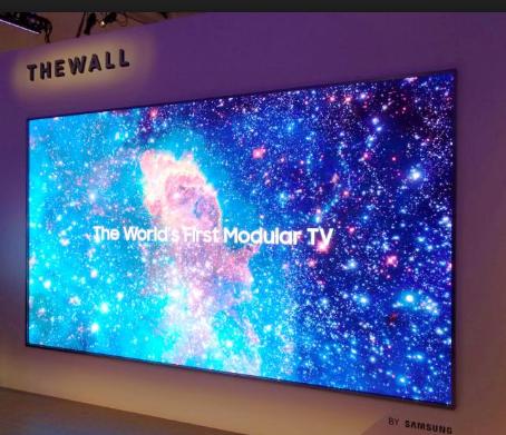 Nouveauté Samsung : The Wall, la télé de 5.5 mètres personnalisable!