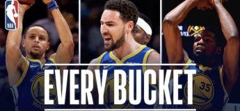 Les Warriors marquent 51 pts dans 1 seul quart-temps (record NBA)