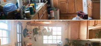 Ces photos avant/après pourraient nous motiver à faire le ménage