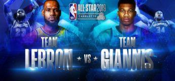 All-Star Game 2019 : replay intégral du match NBA Team LeBron vs Team Giannis