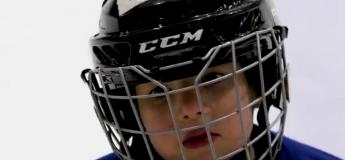 Vous êtes-vous déjà demandé ce que pense un petit garçon de 4 ans pendant une partie de hockey ?