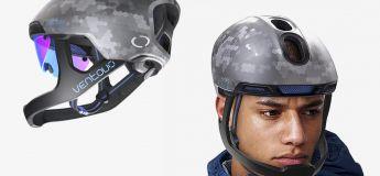 Ce nouveau casque offrant une meilleure protection à la fois pour les cyclistes pro et amateurs