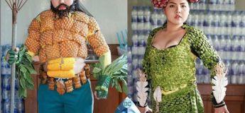Elle utilise de la nourriture pour créer des cosplays de ses personnages favoris