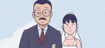 Une BD qui parle de l'histoire tragique d'une jeune femme qui n'a pas pu se marier…