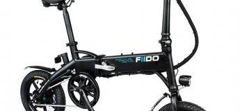 Deux offres intéressantes sur le vélo électrique pliable FIIDO D1