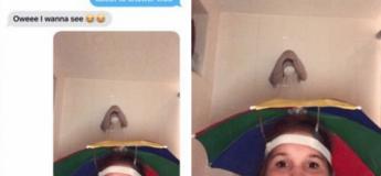 Cette jeune fille envoie une photo « ridicule » d'elle sous la douche à un ami au lieu d'une photo coquine