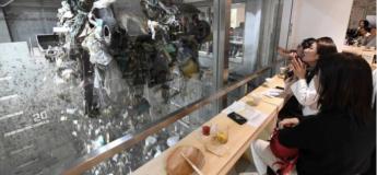 Japon : Ils installent un bar éphémère dans un incinérateur