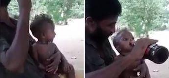 Ce père a été arrêté après avoir fait boire de la bière à son bébé