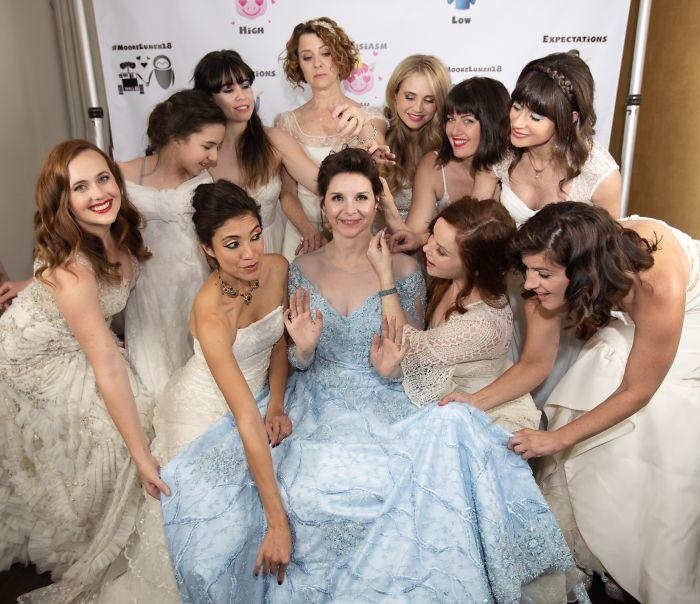 Les wedding orgy