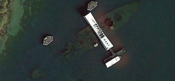Un homme expose ses plus belles trouvailles de Google Earth