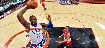 Compilation des actions les plus dingues des All Star Game & Rising Star Challenge (vidéo)