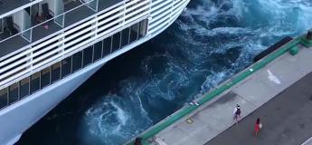 Ce couple pensait vraiment que le bateau de croisière ne partirait pas sans eux