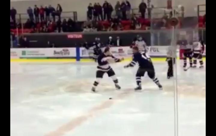 VIDEO : Quand une bagarre en hockey sur glace se termine par une belle chorégraphie