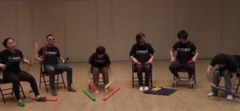 Ces étudiants sont dotés d'un talent musical impressionnant
