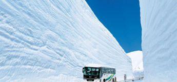 """Bienvenue sur la plus enneigée des routes du monde au """"toit du Japon"""""""