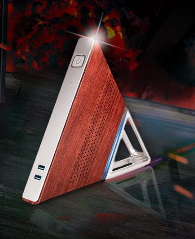 Le mini PC super classe en forme de triangle «Acute aigu AA – B4» au prix de 169,09 €