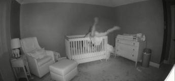 Une maman a failli tomber sur son bébé en essayant de le mettre au lit