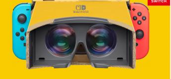 Nintendo enrichit ses kits avec la Nintendo Labo : kit VR