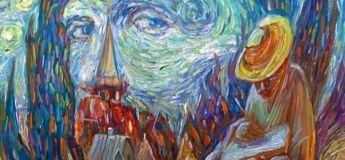 Des peintures hallucinantes avec leur illusion optique