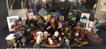 Grande fan de Harry Potter, cette mère de trois enfants détient le record de la plus grande collection d'objets