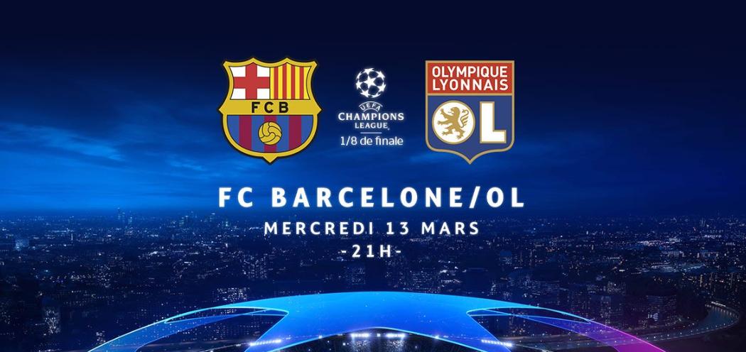 Regarder Barcelone Lyon en streaming #FCBOL