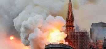 La Cathédrale Notre-Dame en feu et en cendres, les photos choc