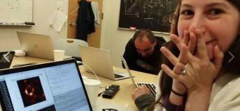 L'ancienne étudiante du MIT Katie Bouman nous a offert cette première image du trou noir grâce à un algorithme complexe